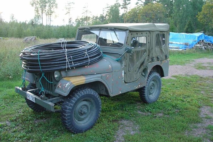 The SM5HUA Willis Jeep with Voodoo Transmision Cable!